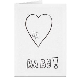 Nouvelles félicitations ou faire-part de bébé