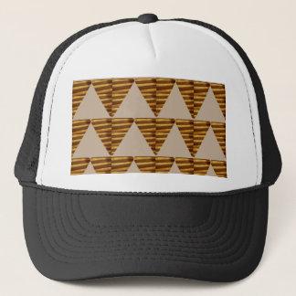 NOVINO Gold, Brown, Symbole, künstlerisches Truckerkappe