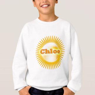 NOVINO künstlerischer Stern-Text Sweatshirt