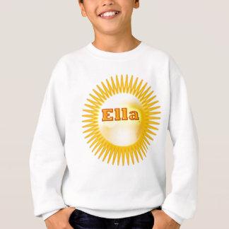 NOVINO künstlerischer Text Sweatshirt