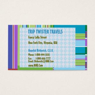 NOVINO: TTT REISEtwister-REISEN Visitenkarte