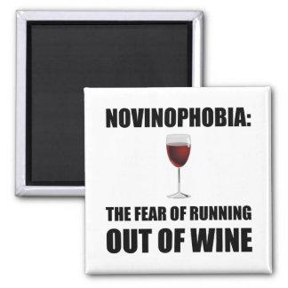 Novinophobia Wein Quadratischer Magnet