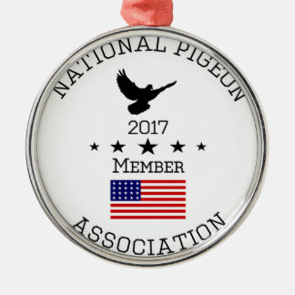 Npa-Mitglied Logowear Rundes Silberfarbenes Ornament