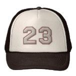Nr. 23 mit coolem Baseball-Stich-Blick Baseball Caps