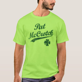 NSPNdrktxt Vintager Pat McCrotch lustiger T - T-Shirt