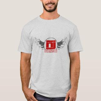 NU winged Logo zweigen ab T-Shirt