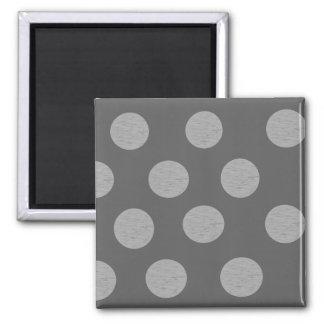 Nuances de gris magnet carré
