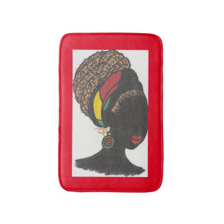Nubian Königin 2 Badematte