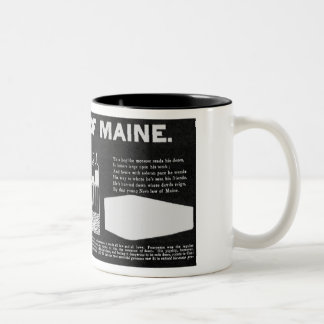 Nüchterne Maine-Tasse