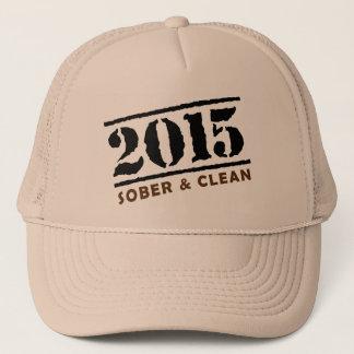 Nüchterne und saubere im Jahre 2015 Kappe
