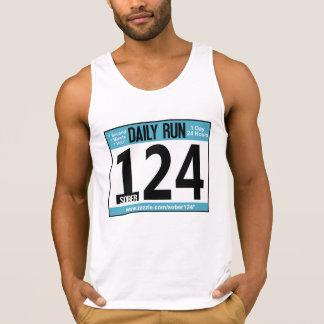 Nüchternes Läufer Behälter-Spitzen-Shirt Tank Top