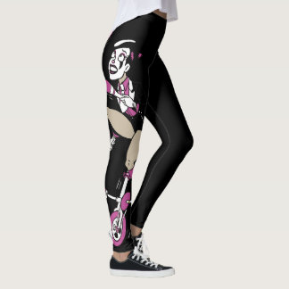 Nugatunicycle-Jonglieren Leggings