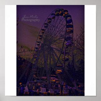 Nuit au parc d'attractions poster