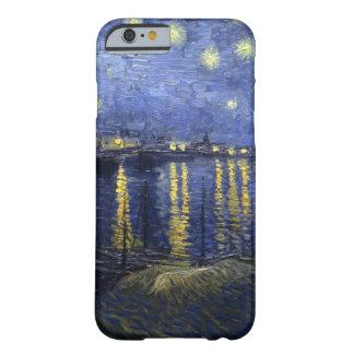 Nuit étoilée au-dessus du cas de l'iPhone 6 du Rhô