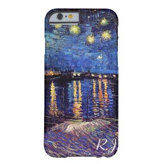 Nuit étoilée au-dessus du Rhône par Van Gogh Coque iPhone 6 Barely There
