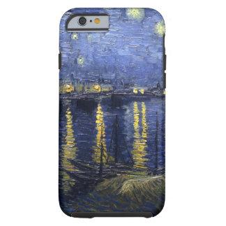 Nuit étoilée de Van Gogh au-dessus du Rhône Coque iPhone 6 Tough