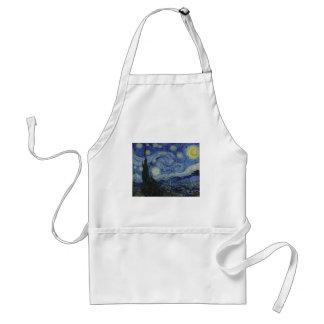 Nuit étoilée par Vincent van Gogh Tablier