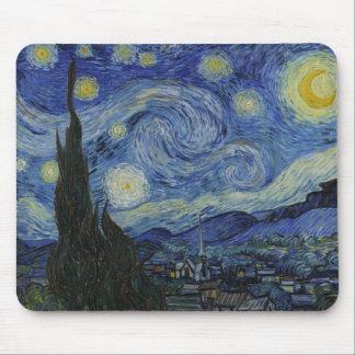 Nuit étoilée par Vincent van Gogh Tapis De Souris