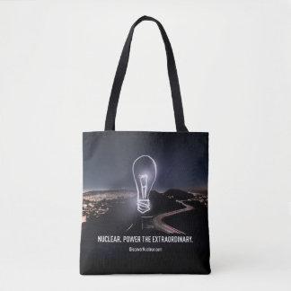 Nuklear. Power die außerordentliche Taschen-Tasche Tasche