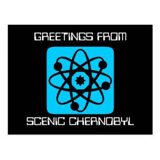Nukleare Waren Postkarte