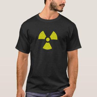 Nukleares Gefahrenradioaktiver T-Shirt