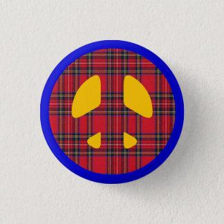Nukleares schottisches runder button 3,2 cm