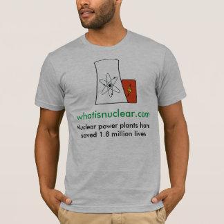nukleares Whatisnuclear.com rettet den T-shir der T-Shirt