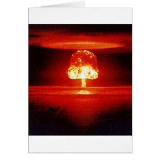 Nuklearexplosion Karte