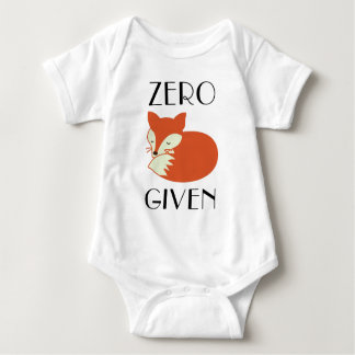 NullFox gegeben Baby Strampler