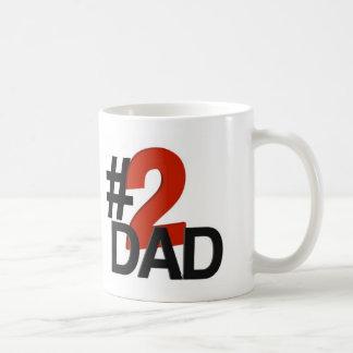 Nummer zwei-Vati Kaffeetasse
