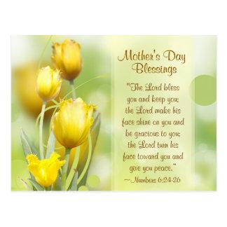 Nummeriert 6:24 - 26, Segen der Mutter Tages, Postkarte