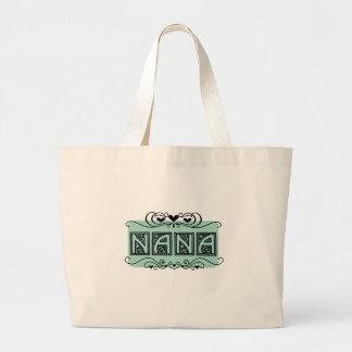 Nummernschild-Nanat-shirts und -geschenke Jumbo Stoffbeutel