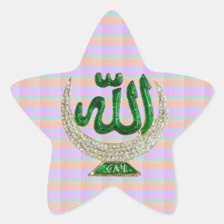 Nur ANZEIGE: IKONE Symbol-Geschenke Stern-Aufkleber
