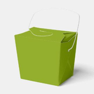 Nur apfelgrüner cooler rustikaler Normallack Geschenkschachtel