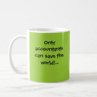 Nur Buchhalter inspirierend Buchhaltungs-Zitat Kaffeetasse