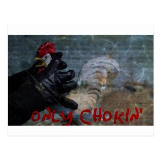 Nur Chokin (Wand) Postkarte