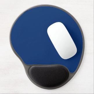 Nur cooler blauer Normallackhintergrund des Kobalt Gel Mouse Matten
