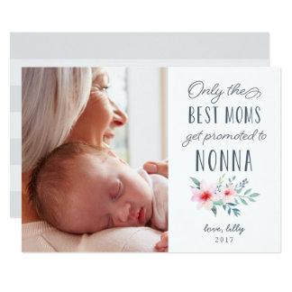 Nur die besten Mammen erhalten zu Nonna Foto Karte