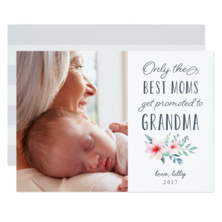 Nur die besten Mammen erhalten zum Großmutter-Foto Karte
