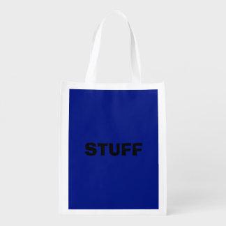 Nur dunkelblauer eleganter Normallack OSCB33 Wiederverwendbare Einkaufstasche