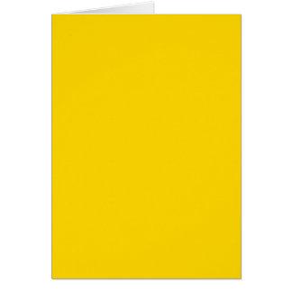 NUR FARBE - Gelb Karte