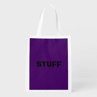 Nur lila tiefer cooler Normallackhintergrund Wiederverwendbare Einkaufstasche