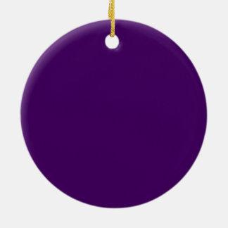 Nur lila tiefer Normallack OSCB15 Rundes Keramik Ornament