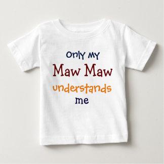 Nur mein Schlund-Schlund versteht mich der T - Baby T-shirt