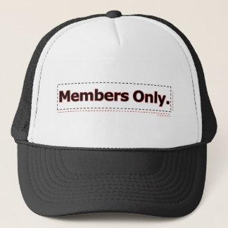Nur Mitglieder Truckerkappe