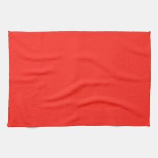 Nur rustikale Farbe des Körpers OSCB35 der roten Geschirrtuch