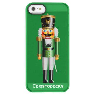 Nussartiger Nussknacker-Spielzeug-Soldat in der Permafrost® iPhone SE/5/5s Hülle