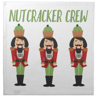 Nussknacker-Crew Serviette