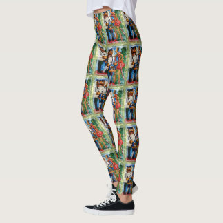 Nussknacker-Koch Leggings