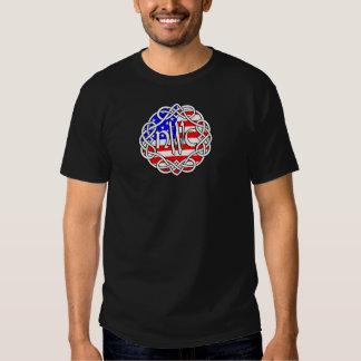 NWC USA/Scotland Flaggen-Logo Shirt